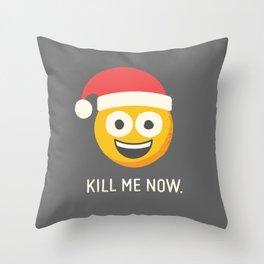 Season's Gratings Throw Pillow