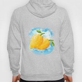 Lemon Puns Illustration Hoody