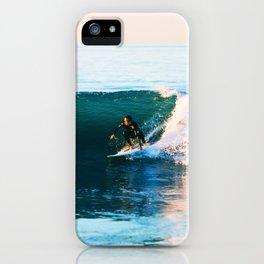 Warm Surf iPhone Case