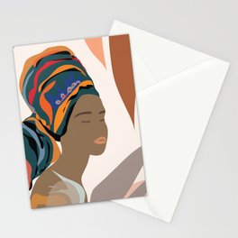 Women with the Turbans Stationery Cards