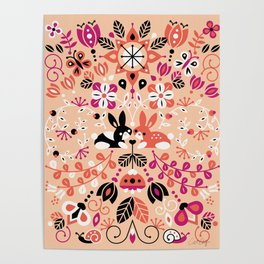 Bunny Lovers Poster