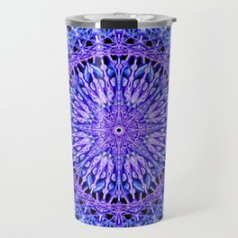 Beads of Light Mandala Travel Mug