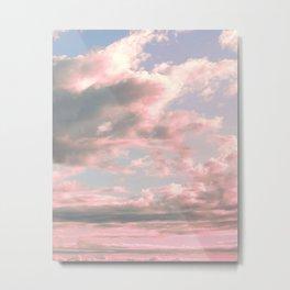 Delicate Sky Metal Print