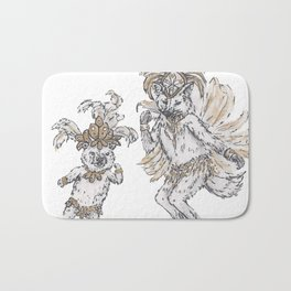 Tiny Dancer - Samba Bath Mat