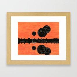 a hunter's dream Framed Art Print
