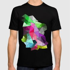 perfect colors in an imperfect configuration Mens Fitted Tee Black MEDIUM
