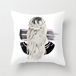 Blondie #3 Throw Pillow