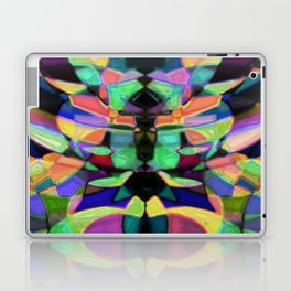 Drinkin Whiskey and Rye: Colorful Digital Abstract Design Laptop & iPad Skin