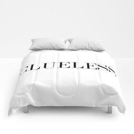 CLUELESS Comforters