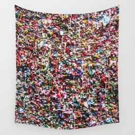 Pop of Color - Seattle Gum Wall Wall Tapestry