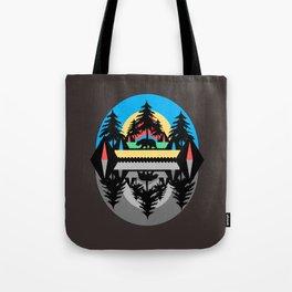 Bear Camp Tote Bag