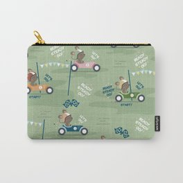 Ready to race mouse pattern Carry-All Pouch