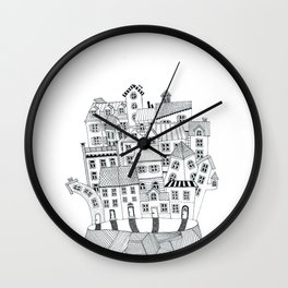 THE ISLAND b/w Wall Clock
