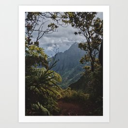 The Garden Isle Art Print