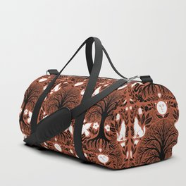 midnight forest moon Duffle Bag