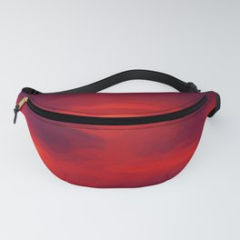 Pictorial Abstract Fanny Pack