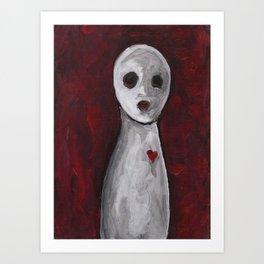 Portraits of Ghosts #3 Art Print