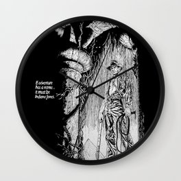 Indiana Jones and the Temple of Doom Wall Clock