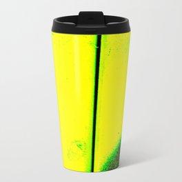 Black, Green and Gold Travel Mug