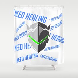 I Need Healing Shower Curtain