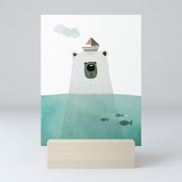 Polar bear Mini Art Print