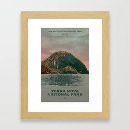 Terra Nova National Park Framed Art Print
