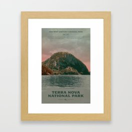 Terra Nova National Park Framed Art Print
