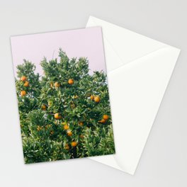 Oranges for Days Stationery Cards