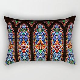 Mary's Mountain Windows Rectangular Pillow
