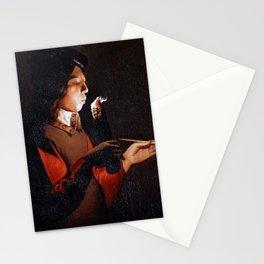Georges de La Tour - Smoker Stationery Cards