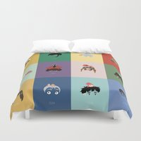 ponyo Duvet Covers featuring Miyazaki's World. by Jarvis Glasses