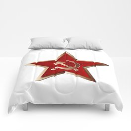 Soviet Badge Insigni Comforters