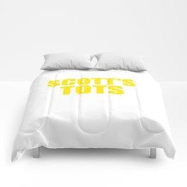 The Office Scott's Tots Light Blue T-Shirt Tee Comforters