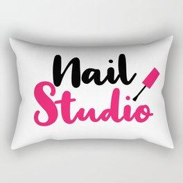 Nail Studio Rectangular Pillow