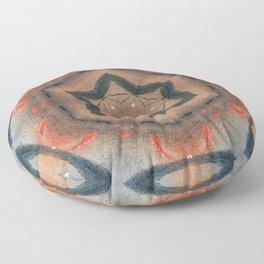 Bushfire Gum Medallion 14 Floor Pillow