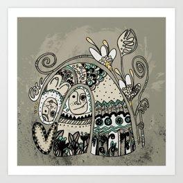 love king! Art Print