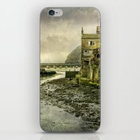 cassia beck iPhone & iPod Skins featuring The Beck at Staithes by tarrby/Brian Tarr