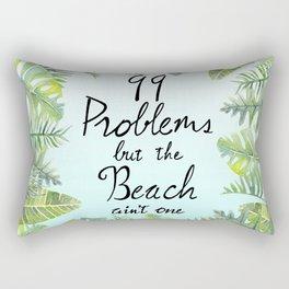 Tropical Chill Rectangular Pillow