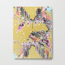 Streets of Vietnam Abstract Print Metal Print