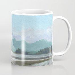 SITKA SOUND 03, Sitka Travel Sketch by Frank-Joseph Coffee Mug