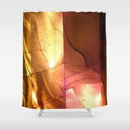 ARCH ABSTRACT 4: EMP Museum #1, Seattle Shower Curtain