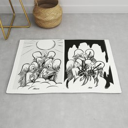 Heaven and Hell Rug