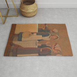 Frederick Cayley Robinson- Orphan (2nd in series) Rug