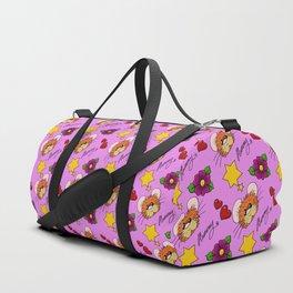 Hammy Pattern in Pink Duffle Bag