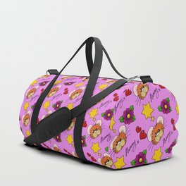 Hammy Pattern in Pink Duffle Bag