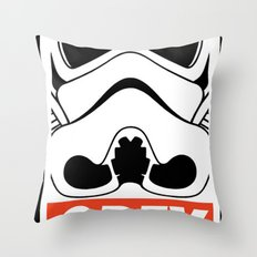 OBEY Storm Trooper  Throw Pillow