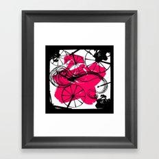 Briar Rose with Spinning Wheels Framed Art Print