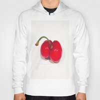 cherry Hoodies featuring Cherry by Jose Luis