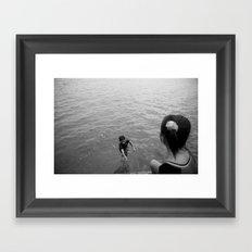 Bajo kids Framed Art Print