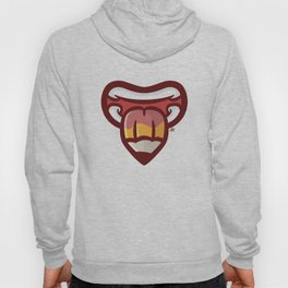 Pencil Mouth Hoody